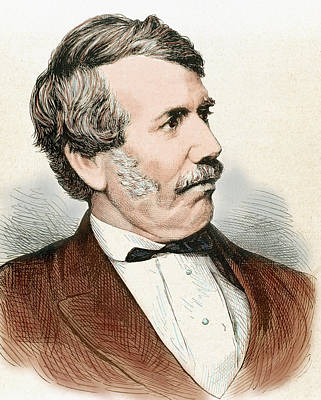 Engraving Photograph - David Livingstone (1813-1873 by Prisma Archivo