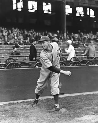 Philadelphia Phillies Stadium Photograph - David M. Dave Smith by Retro Images Archive