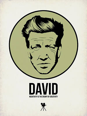 David Poster 2 Print by Naxart Studio