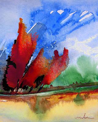 Dawn 04 Print by Miki De Goodaboom