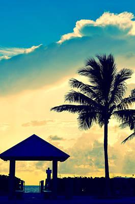 Palm Beach Photograph - Dawn Beach Pyramid by Laura Fasulo
