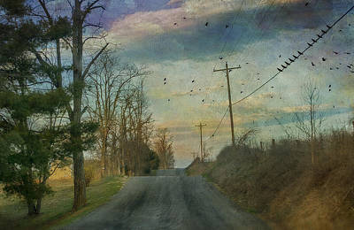 Of Birds Photograph - Dawn by Kathy Jennings
