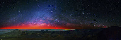 Dawn Over Haleakala National Park Print by Walter Pacholka, Astropics