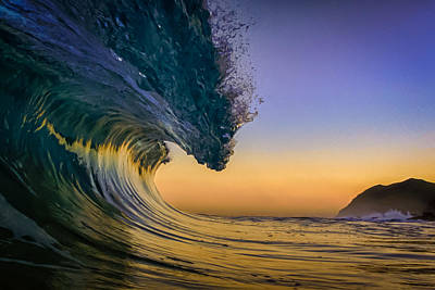 Surfing Photograph - Dawn Perfection by Gregg  Daniels