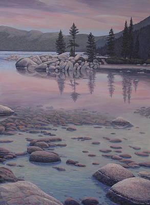Dawn's Stillness Print by James English Babcock
