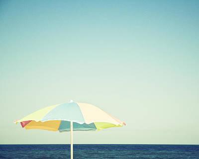 Beach Photograph - Day At The Beach by Carolyn Cochrane