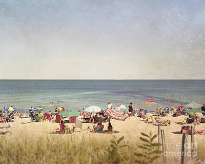Day At The Beach Print by Jillian Audrey Photography