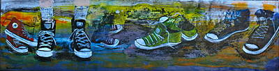 Day At The Park Original by Linda Paoluccio