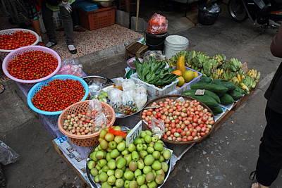 Market Photograph - Day Market - Pak Chong Thailand - 01136 by DC Photographer