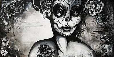 Day Of The Dead  Original by Kayla  Behm