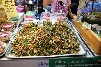 Daytime Photograph - Day Street Market - Chiang Mai Thailand - 01134 by DC Photographer