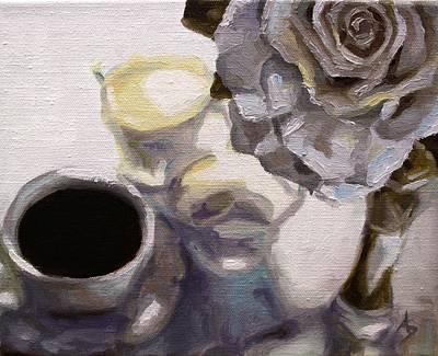 Morn Painting - Daybreak II by Alison Schmidt Carson