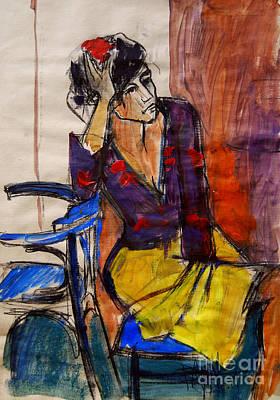 Daydream - Pia #7 - Figure Series Print by Mona Edulesco