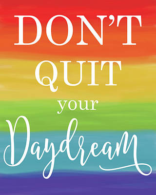 Daydream Rainbow Print by Alli Rogosich