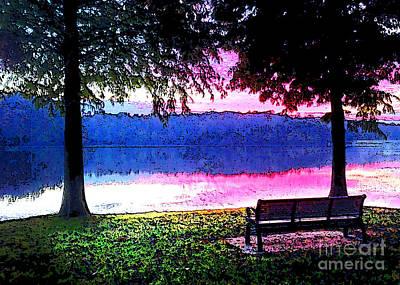 Daylight Come Print by Nancy E Stein