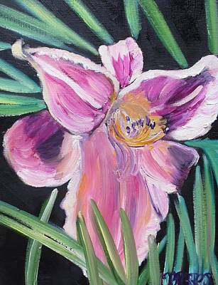 Daylily Print by Melissa Torres