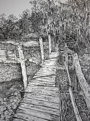 Days Gone By Original by Janet Felts