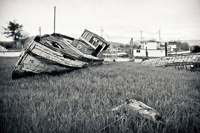 Abandoned Photograph - Days Gone By by Priya Ghose