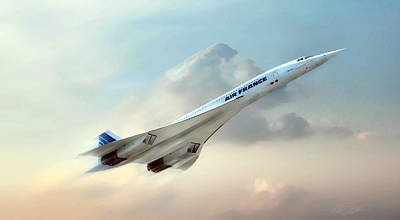 Airliners Digital Art - Days Of Future Passed by Peter Chilelli