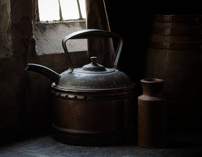 Teapot Photograph - Days Of Old by Amy Weiss