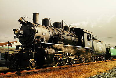 Days Of Steam And Steel Print by Jeff Swan