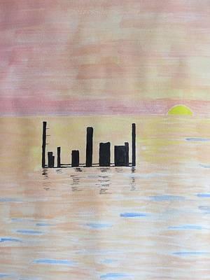 Morn Painting - Dayspring by Sonali Gangane