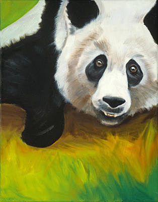 Ling Painting - D.c. Panda by Anne Lewis