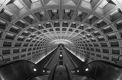 D.c. Subway Print by Dustin  LeFevre