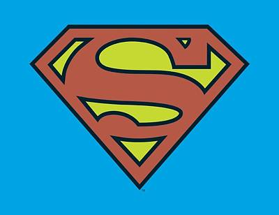 Halloween Digital Art - Dc - Superman Logo by Brand A