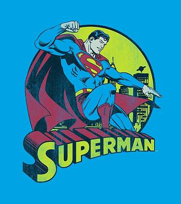 Halloween Digital Art - Dc - Superman by Brand A