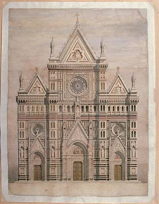 De Fabris Emilio, Dome, Draft Print by Everett