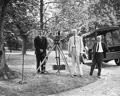 Film Maker Photograph - De Forest Pioneering Phonofilm, 1924 by Science Photo Library