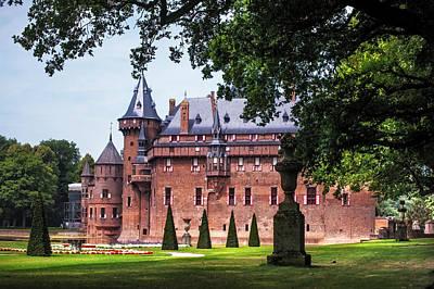 De Haar Castle 3. Utrecht. Netherlands Print by Jenny Rainbow