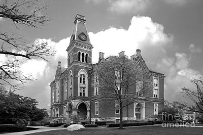 Indiana Photograph - De Pauw University East College by University Icons