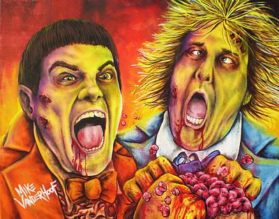 Dead And Deader By Mike Vanderhoof Print by Michael Vanderhoof