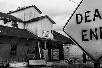 Decrepit Photograph - Dead End by Jon Woodhams