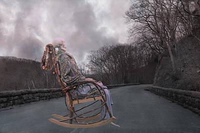 Rocking Digital Art - Dead Man's Curve by Betsy Knapp
