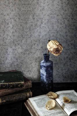 Dried Photograph - Dead Rose by Joana Kruse