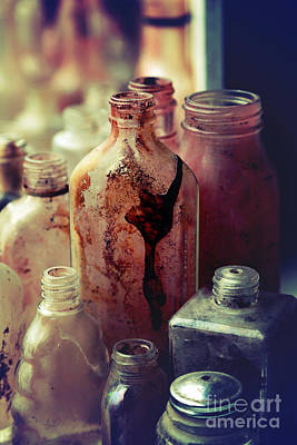 Deadly Potions Print by Trish Mistric