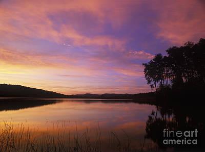 Indiana Landscapes Photograph - Deam Lake Dawn - Fm000086 by Daniel Dempster