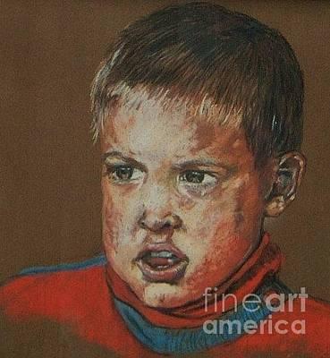 Pastel Portraits Painting - Dean by John Clark