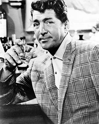 Dean Martin In Kiss Me, Stupid  Print by Silver Screen