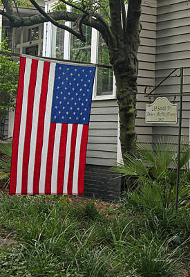 4th July Photograph - Deans - Maffitt House by Suzanne Gaff