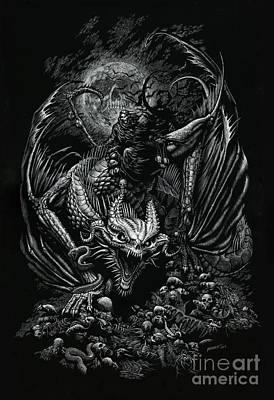 Death Dragon Original by Stanley Morrison