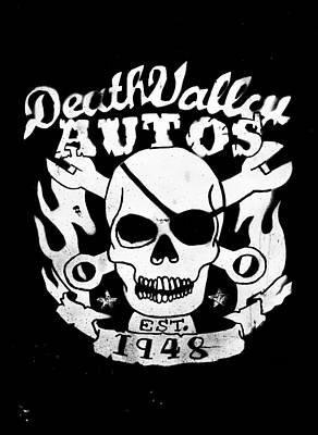 Phil Motography Clark Photograph - Death Valley Autos by Phil 'motography' Clark