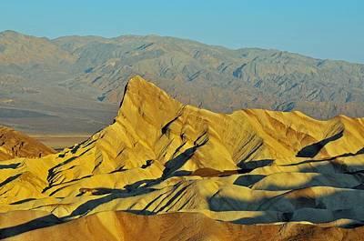 Death Valley Zabriskie Point Print by Paul Van Baardwijk