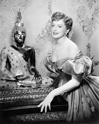 Deborah Kerr In The King And I  Print by Silver Screen