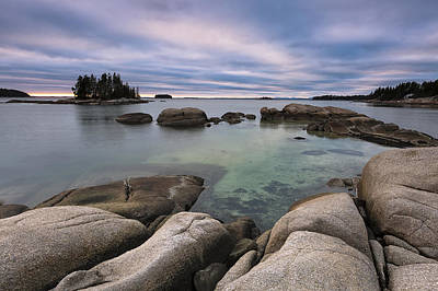 Penobscot Bay Photograph - December Afternoon by Patrick Downey