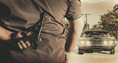 Sixties Photograph - Deception In The Bay Parking by Jorgo Photography - Wall Art Gallery