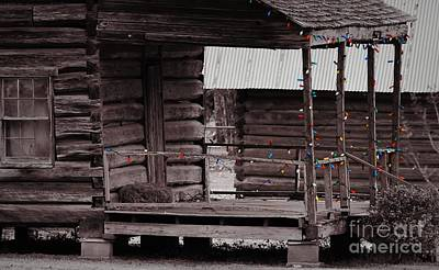 Old Home Place Photograph - Deck The Logs by Cindy Veroline